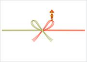 紅白蝶結び[画像]